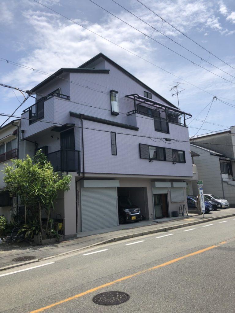三田市 外壁塗装の写真