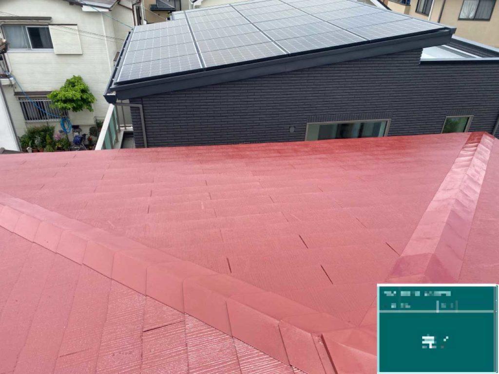 篠山市 屋根塗装の写真