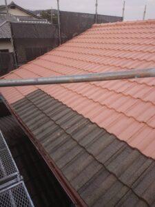 丹波市屋根塗装の写真