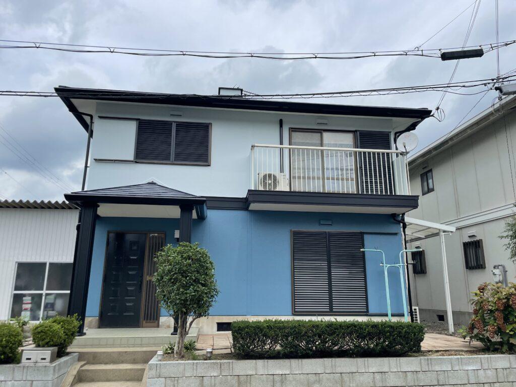 丹波篠山市、屋根外壁塗装の写真